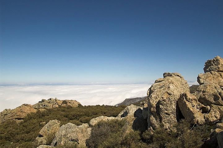 Balagne in clouds