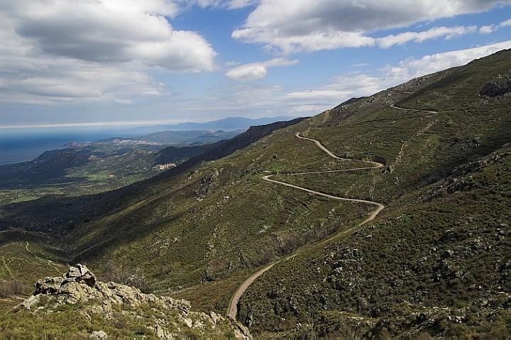 Corsican roads