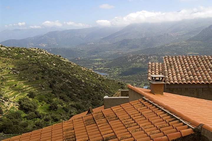 Balagne over the roofs of San Antonino