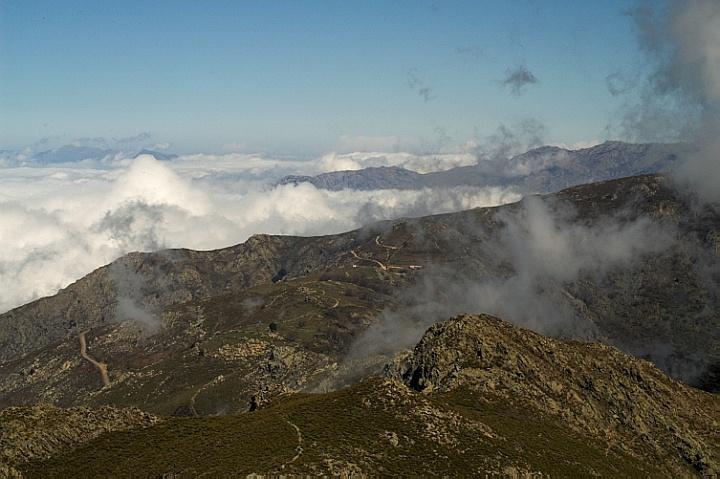 Between Monte Tolu and Bocca di Battaglia