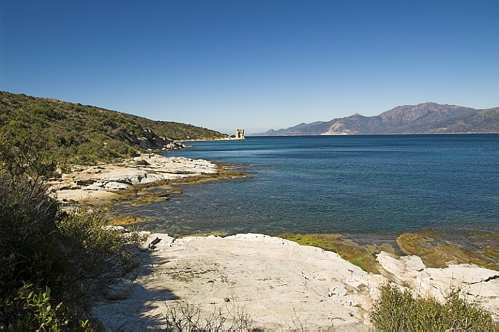 Punta Mortella beyond
