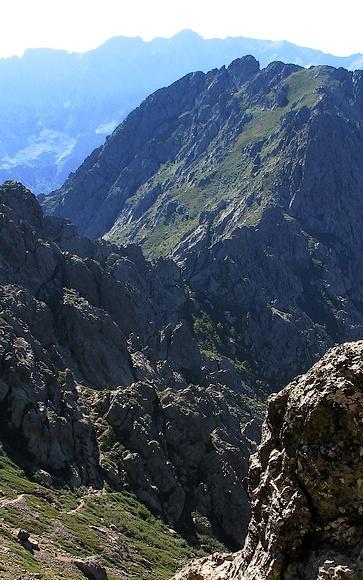Ridge between Bocca d'Avartolli and Bocca Carrozzu