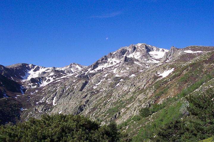 Monte Renoso from E'Capannelle